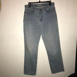 {lee} straight leg jeans